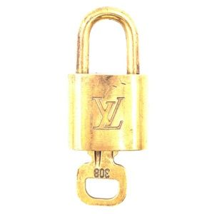 Lock Keepall Speedy Alma Brass and Key Set #308